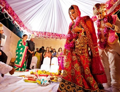 Marriage Ceremony of Beauties with Bond in Gujrat